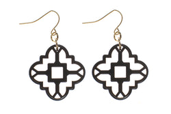 Zenzii Mosaic Tile Earrings