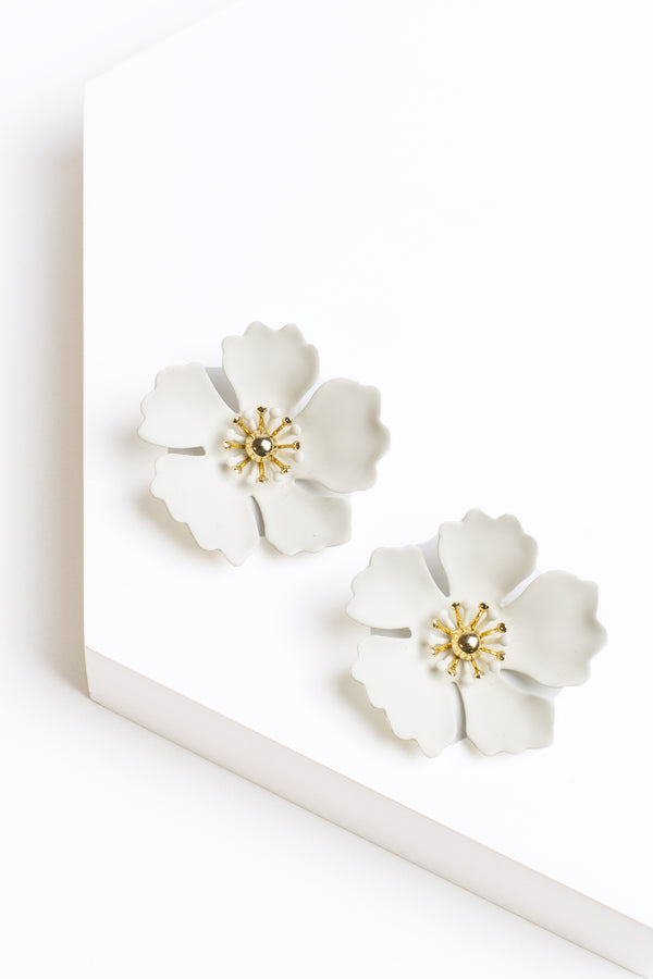 Zenziil Petunia Flower Earrings