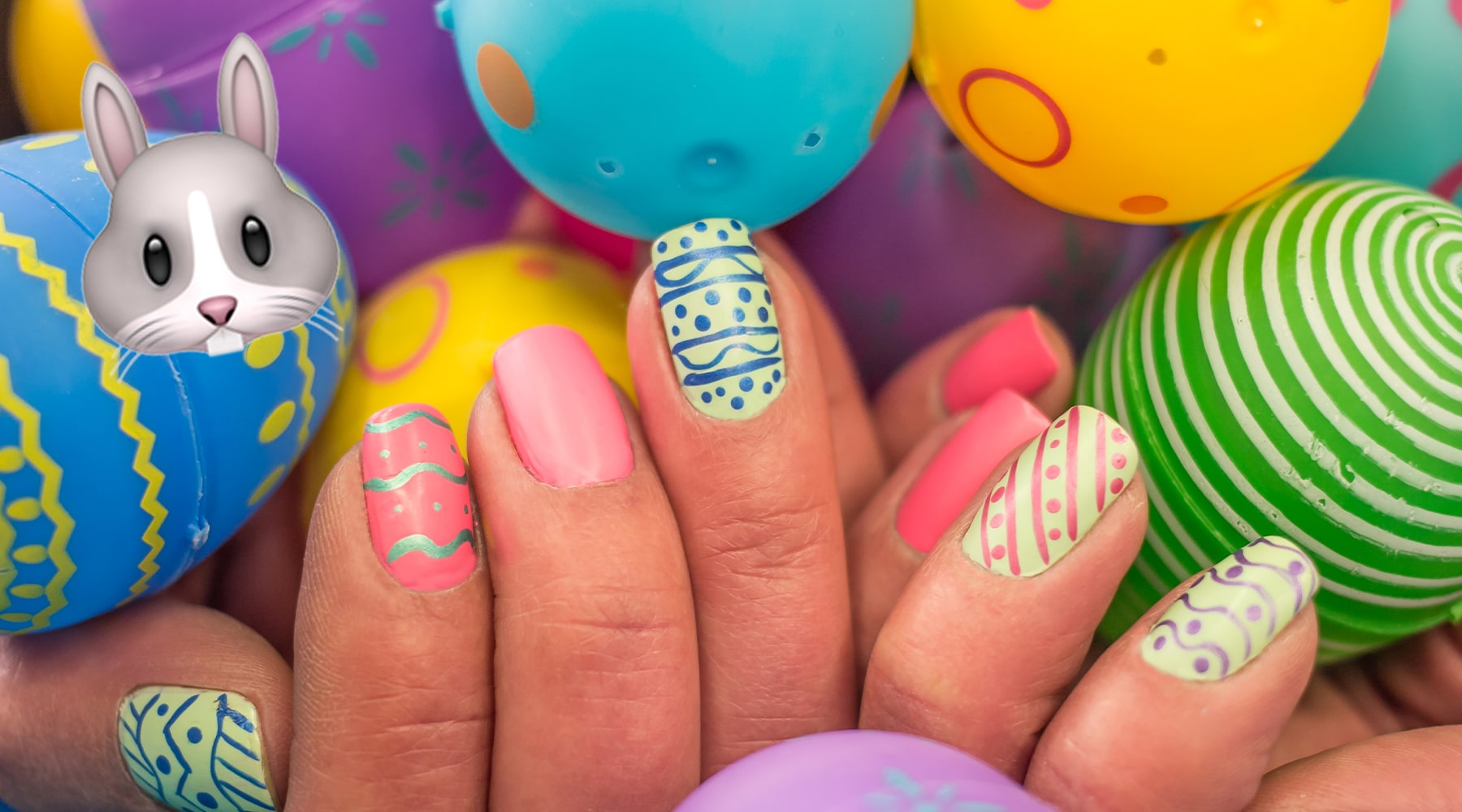 Nail Art Ostern: Eggshell Nails & Oster Nail Art