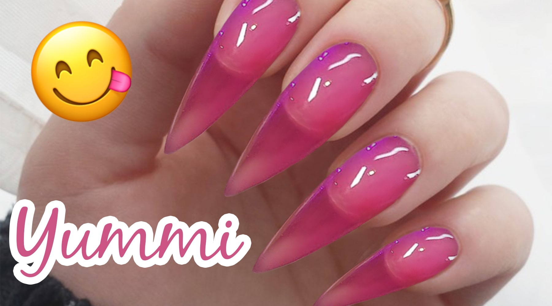 Trend: Jelly Nails – bunt und transparent