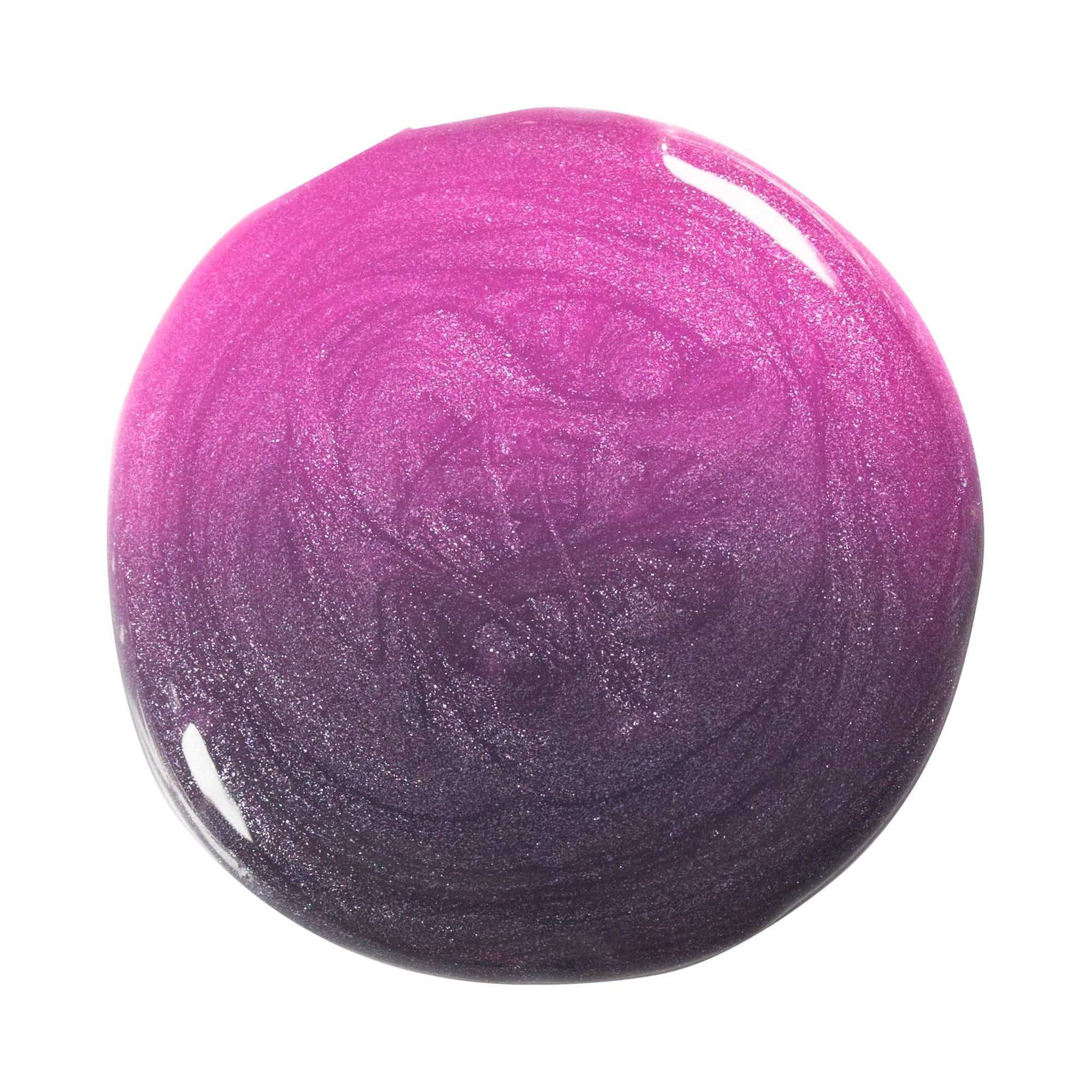 Effekt Gel Thermo dark nude-pink metallic