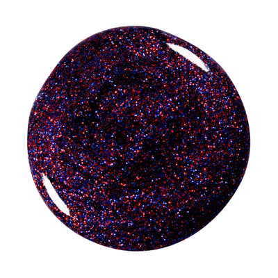 Effekt Gel Classic Glitter red blue