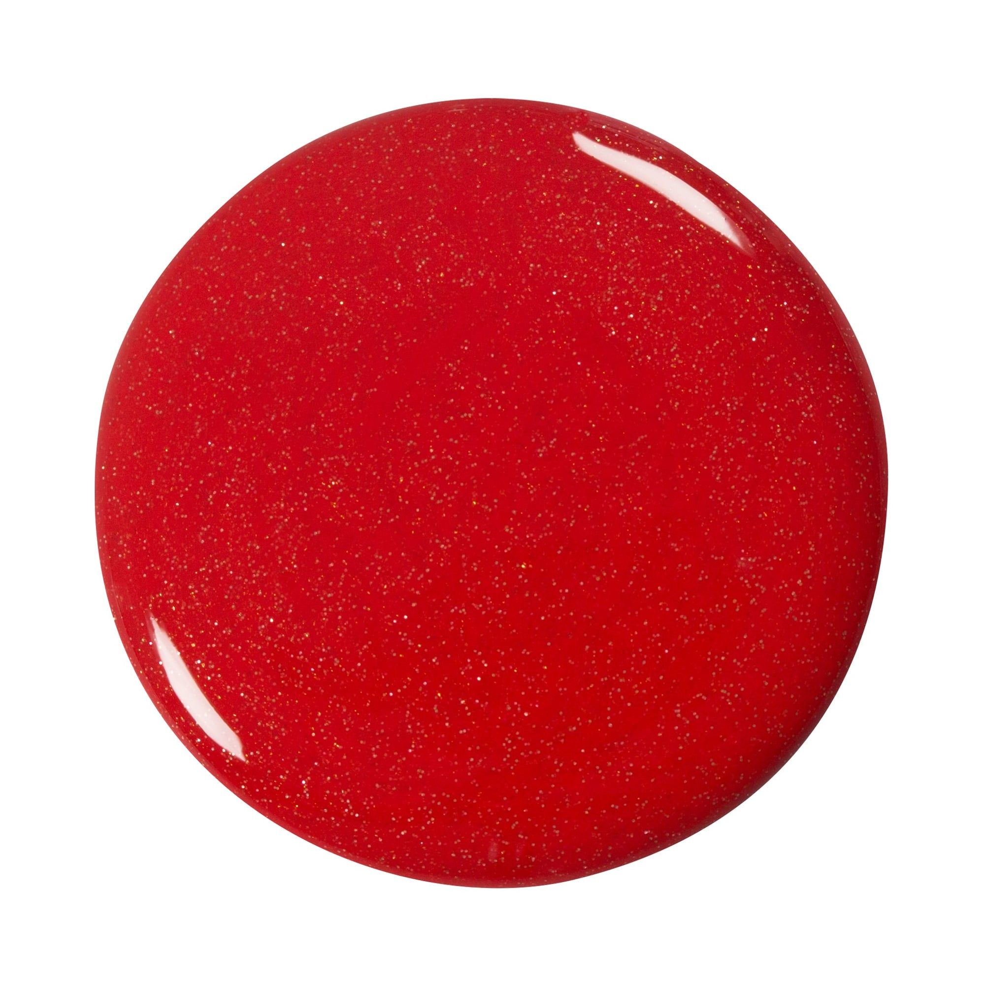 Effekt Gel Classic Glitter sugar red
