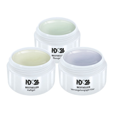 3 x Modellage Gel Set