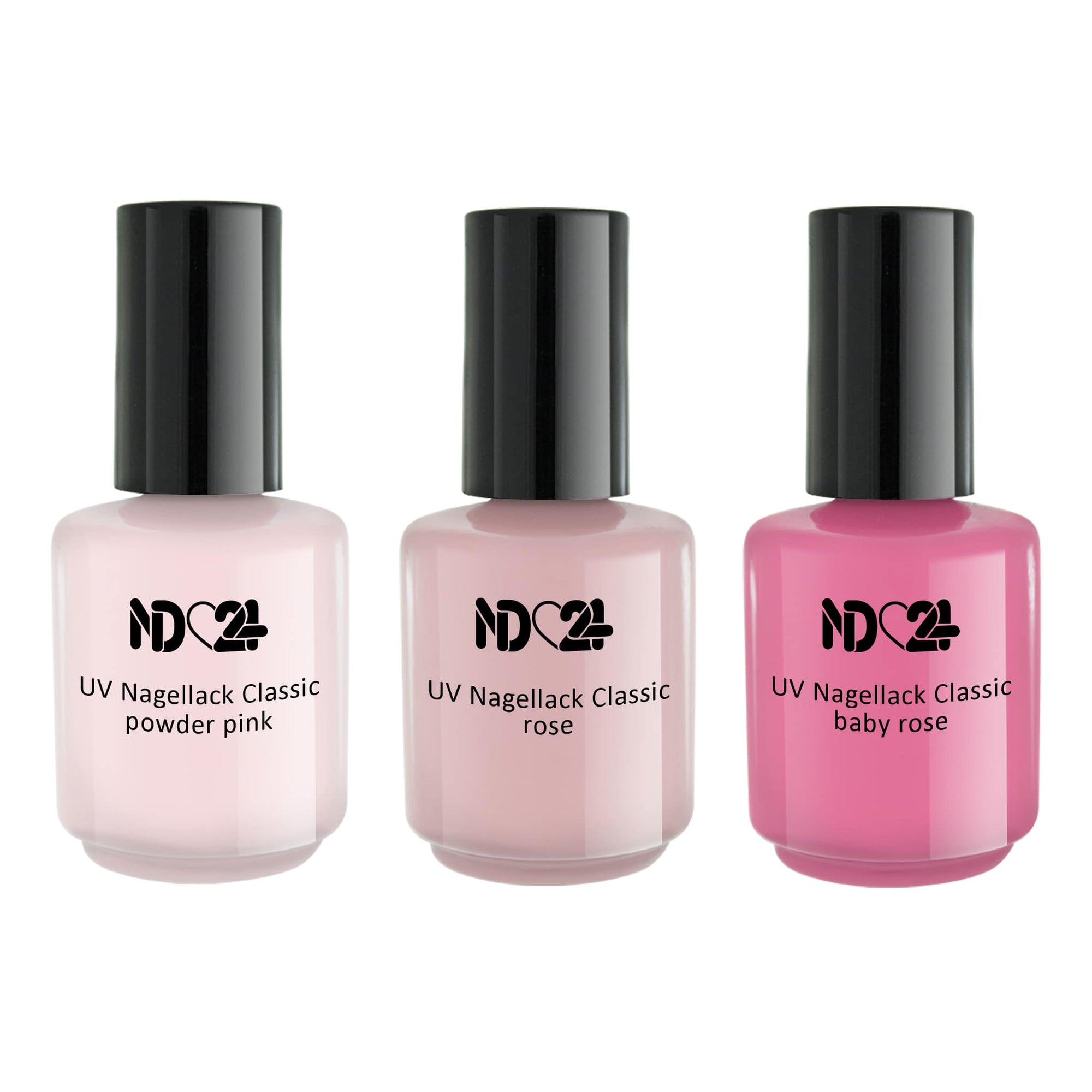 UV Nagellack Elegant Rose Collection