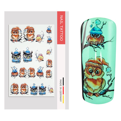 NailArt Tattoo Tiere