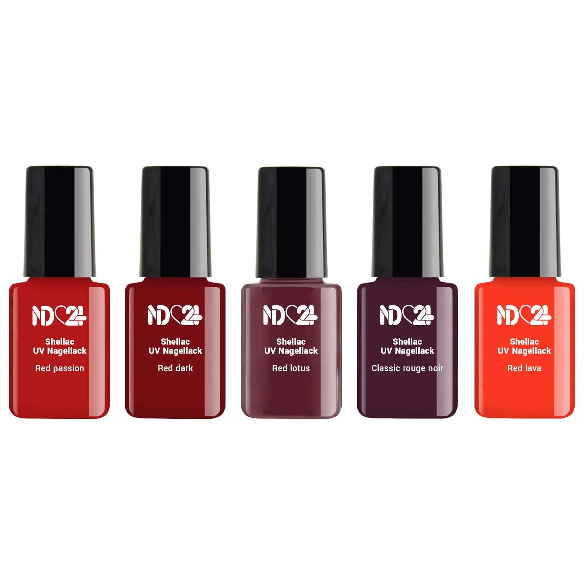Shellac Red Love Collection