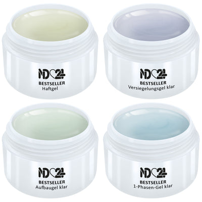 4 x Modellage Gel Set