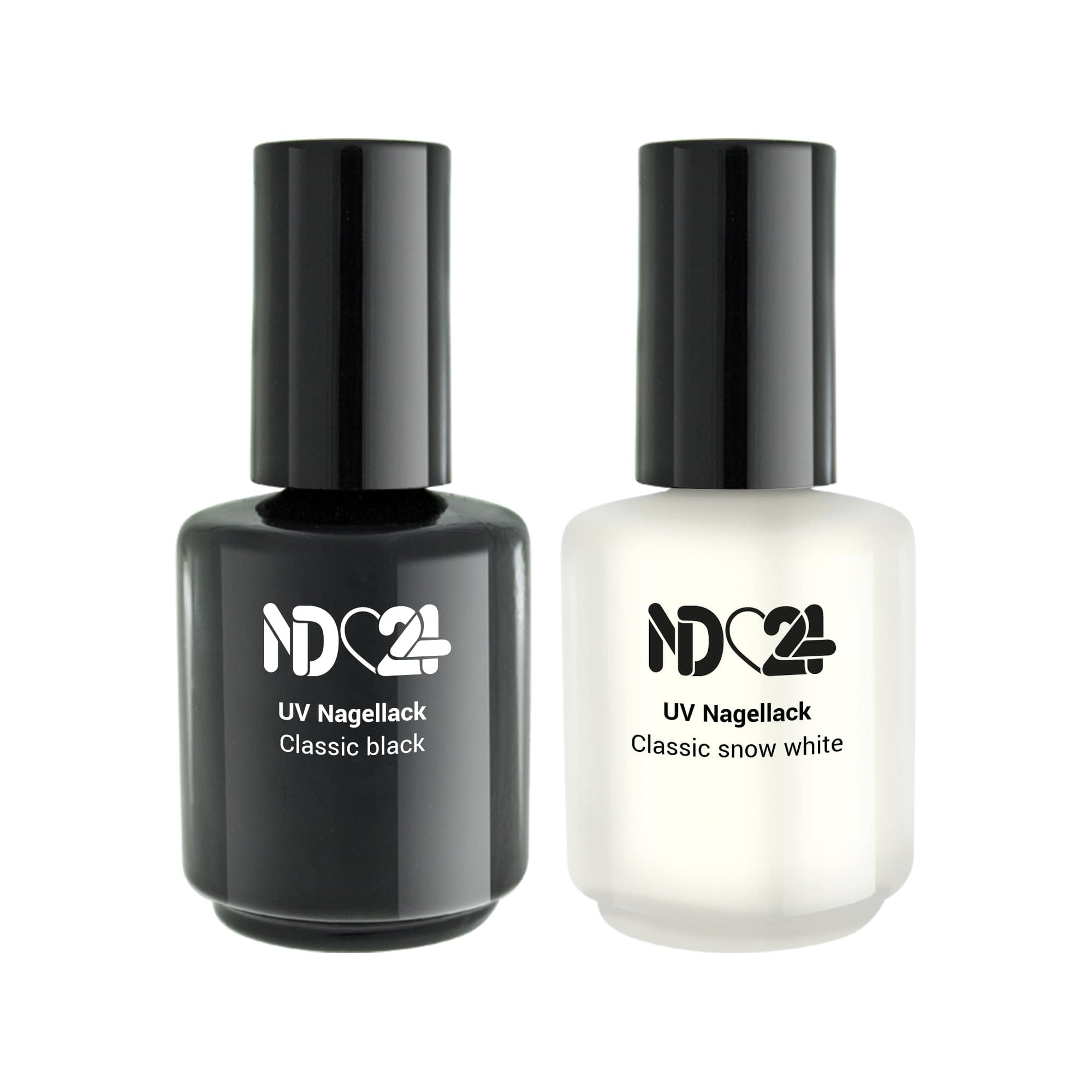 UV Nagellack Black & White Collection