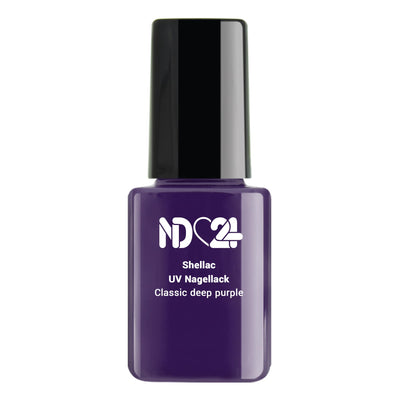 Shellac Classic deep purple
