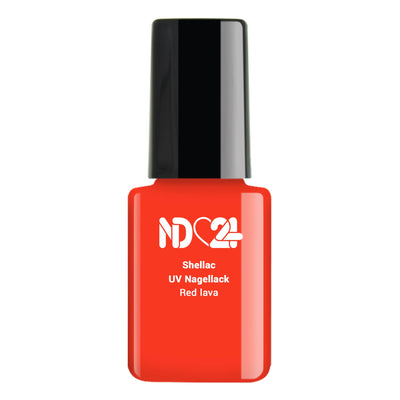 Shellac UV Nagellack Red lava