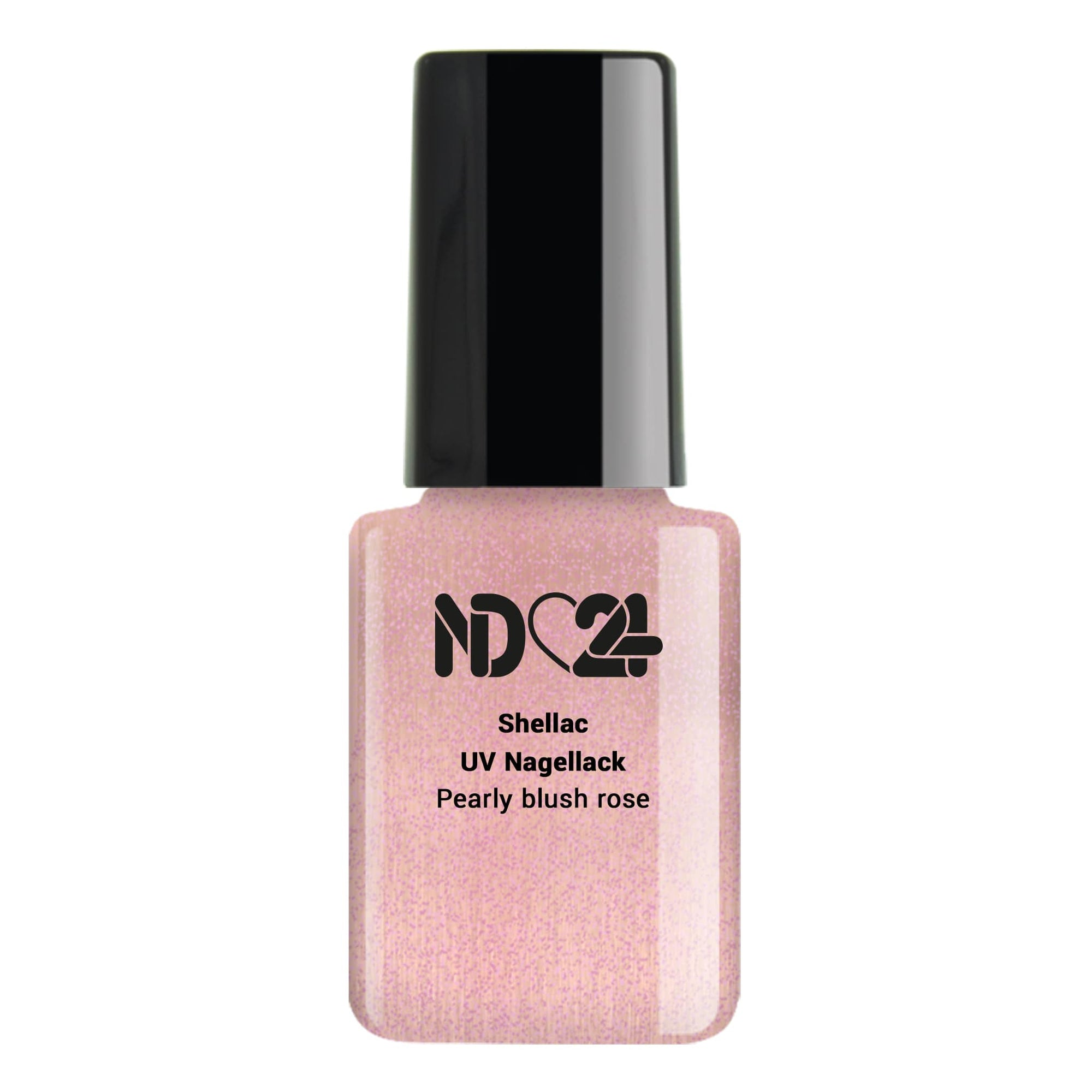 Shellac UV Nagellack Pearly blush rose