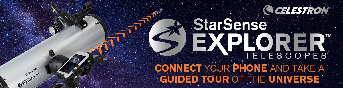 StarSense Explorer Smartphone App-Enabled Telescopes Collection Hero Image