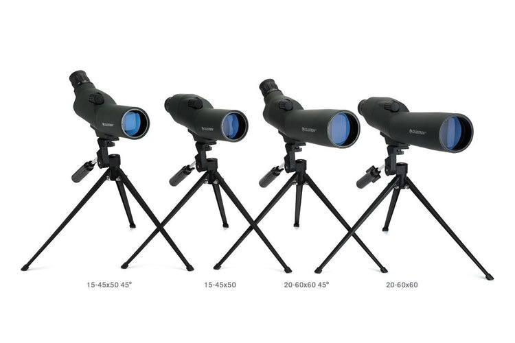 20-60x 60 mm 45 Degree UpClose Spotting Scope