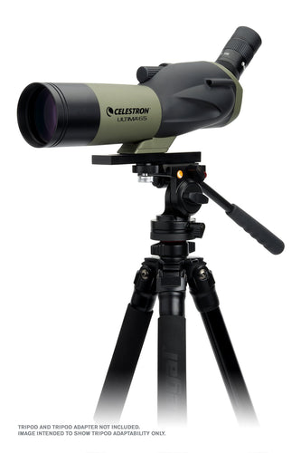 Ultima 65 - 45 Degree Spotting Scope with Smartphone Adapter