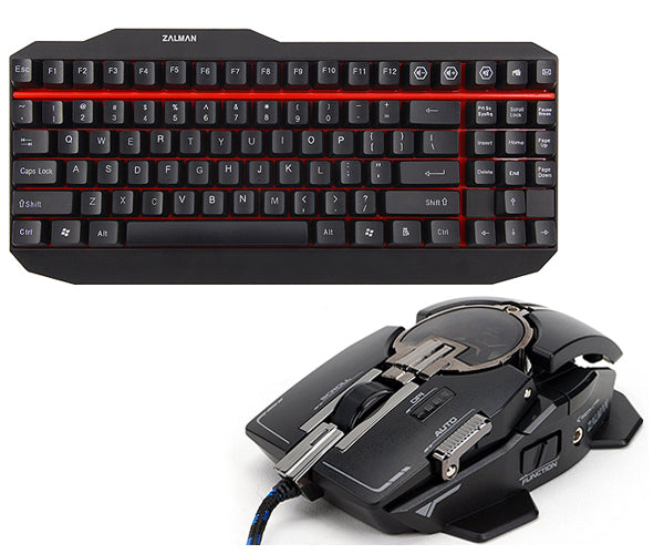 Gaming Keyboard Mouse Combo (K500 + GM4)