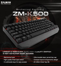 ZM-K500 Mechanical Keyboard