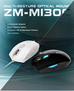 ZM-M130C Optical Wired Mouse