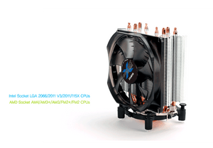 Zalman CNPS9X Optima White LED Fan + Extra STG1 Thermal Grease