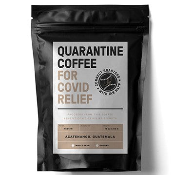 With this gift you receive a bag of Quarantine Coffee from Connect Roasters and Ian Happ