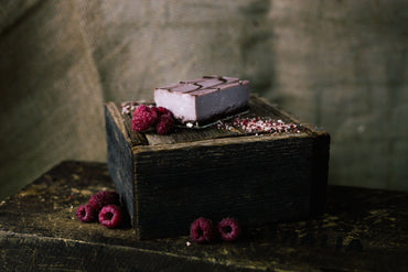 Rasberry Chocolate Ganache (Slab)