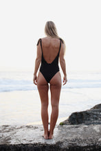 Load image into Gallery viewer, Agnetha One Piece - Black Ribbed
