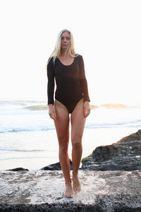 Stockholm Suit - Black Ribbed