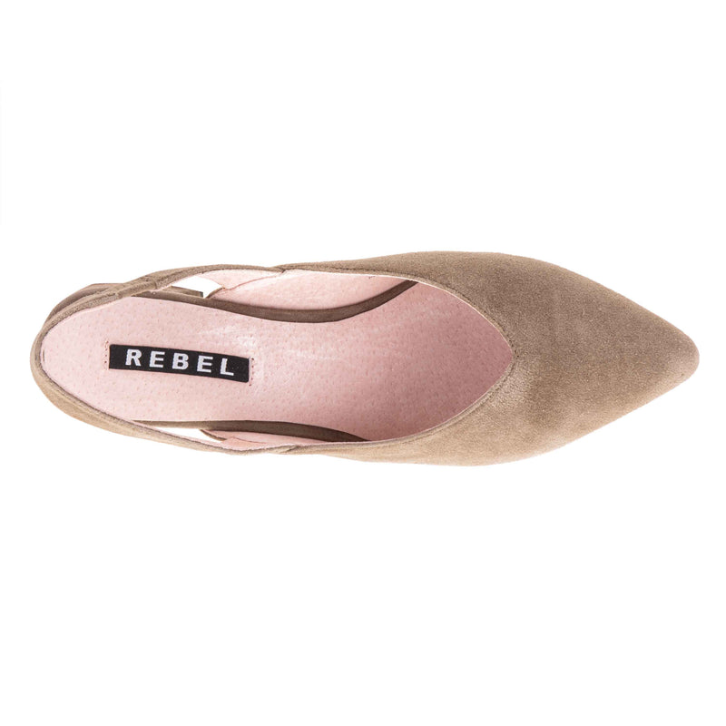Rebel-Wilson-Women's-Sisters-B4-Misters-Ballet-Pumps