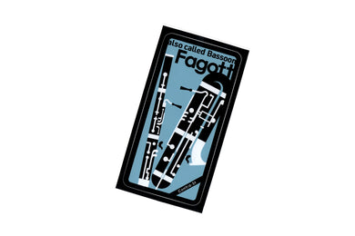 【Fagott】Contra-st Music Sticker - SomeMusicDesign | Music Gifts