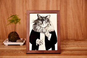 【Conductor】Portrait of Classicats - SomeMusicDesign | Music Gifts