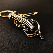 Load image into Gallery viewer, 【Cello】Wire Art Instrument Charm - SomeMusicDesign | Music Gifts