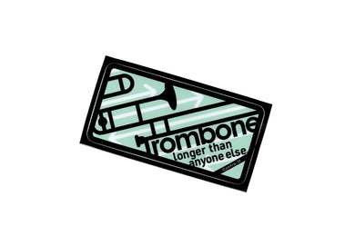 【Trombone】Contra-st Music Sticker - SomeMusicDesign | Music Gifts