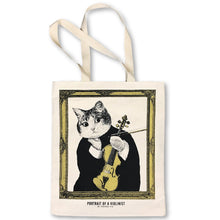 Load image into Gallery viewer, 【Violin】Classicats-Canvas Bag|Hand-Made - SomeMusicDesign | Music Gifts