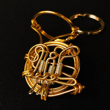 Load image into Gallery viewer, 【Horn】Wire Art Instrument Charm - SomeMusicDesign | Music Gifts