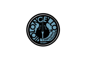 【Cello】Contra-st Music Sticker - SomeMusicDesign | Music Gifts