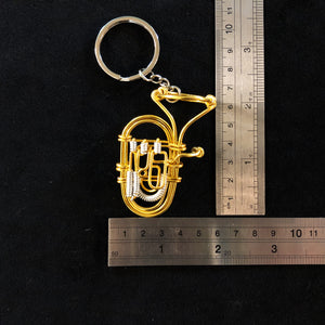 【Euphonium】Wire Art Instrument Charm