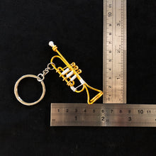 Load image into Gallery viewer, 【Trumpet】Wire Art Instrument Charm