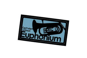【Euphonium】Contra-st Music Sticker - SomeMusicDesign | Music Gifts