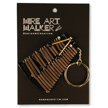 Load image into Gallery viewer, 【Marimba】Wire Art Instrument Charm - SomeMusicDesign | Music Gifts