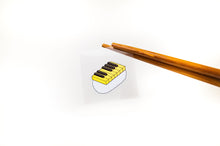 Load image into Gallery viewer, 【Piano】Music Sushi - Stickers  (5 pcs) - SomeMusicDesign | Music Gifts
