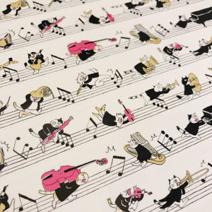 【Run! Musician Run!】Masking Tape - SomeMusicDesign | Music Gifts