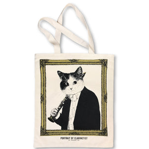 【Clarinet】Classicats-Canvas Bag|Hand-Made - SomeMusicDesign | Music Gifts