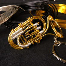 Load image into Gallery viewer, 【Euphonium】Wire Art Instrument Charm