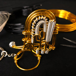 【Tuba】Wire Art Instrument Charm