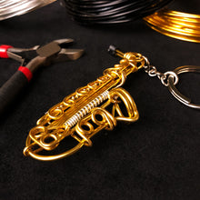 Load image into Gallery viewer, 【Saxophone】Wire Art Instrument Charm