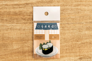 【Timpani】Music Sushi - Stickers  (5 pcs) - SomeMusicDesign | Music Gifts