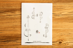 【String Quartet】GAKU-Folder - SomeMusicDesign | Music Gifts