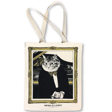 Load image into Gallery viewer, 【Piano】Classicats-Canvas Bag|Hand-Made - SomeMusicDesign | Music Gifts