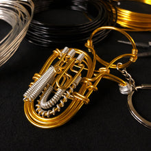 Load image into Gallery viewer, 【Tuba】Wire Art Instrument Charm