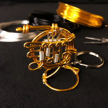 Load image into Gallery viewer, 【Horn】Wire Art Instrument Charm